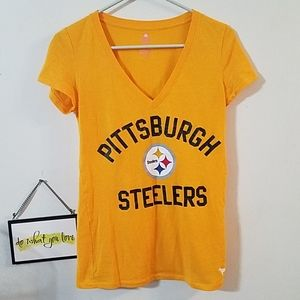 PINK Victoria's Secret Steelers t-shirt